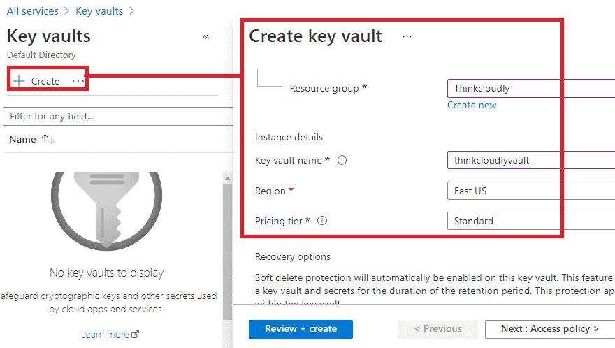 key vault