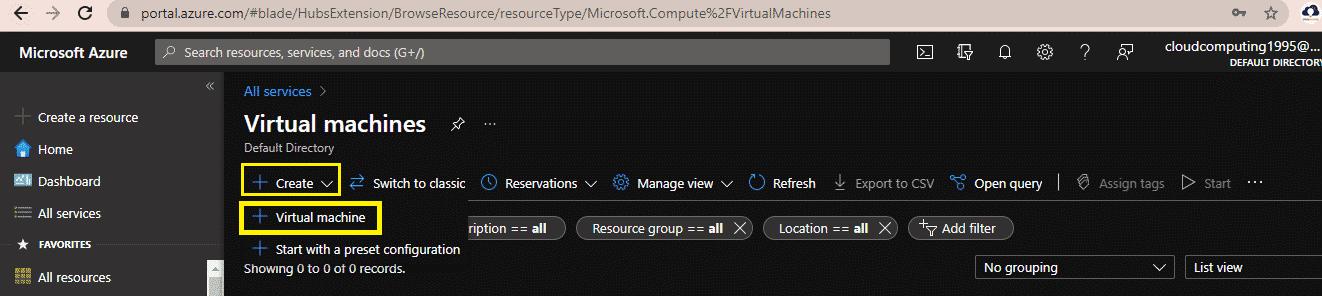 Azure VM