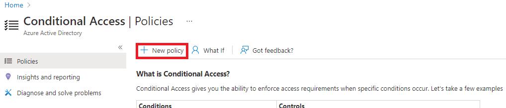 Block Legacy Authentication