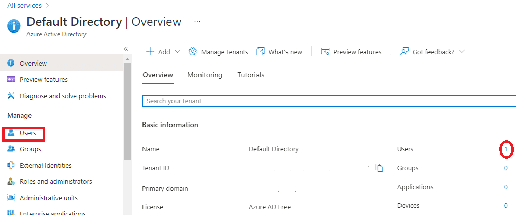 Create users in Azure AD